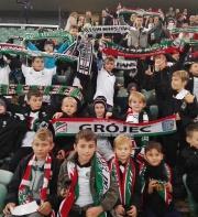 Legia Soccer Schools Grójec na meczu przy Ł3!