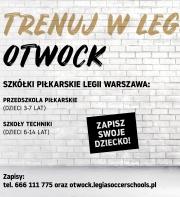 RUSZA LEGIA SOCCER SCHOOLS W OTWOCKU!
