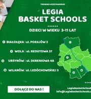 Rusza nowy sezon Legia Basket Schools