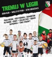 Legia Schools: Jeden Klub - Wiele dyscyplin - Setki lokalizacji!