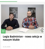 Sekcja Badmintona Legii Warsawa