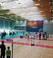 Turniej Legia Badminton Schools w LAVO.