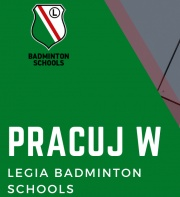 Pracuj w Legia Badminton Schools