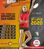 Turniej badmintona pod patronatem Legia Badminton Schools