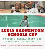 Mikołajkowy Turniej Legia Badminton Schools Cup