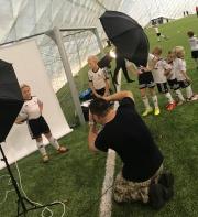 Trwają sesje foto w Legia Soccer Schools!