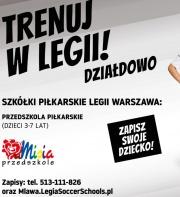 Nabory do Szkółki Legii w Działdowie!