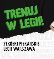 Trenuj w Legii! Zapisy czas start!