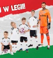 Zapisz swoje dziecko na treningi w Legii Warszawa!