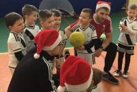 Trening Mikołajkowy w ośrodku Łomianki - Czosnów