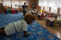 Miś KAZEK odwiedził Wyszkowskie Przedszkola