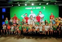 Zajęcia pokazowe dla Legia Soccer Schools w ESPOT!