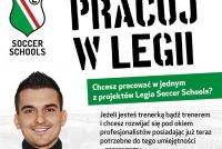 Zostań trenerem w Piłkarskim Przedszkolu Legii Warszawa w Pionkach!