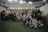 Nasi uczestnicy podczas meczu Legia Warszawa vs Śląsk Wrocław