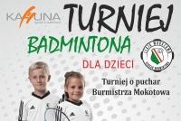 Turniej Badmintona dla dzieci Kahuna