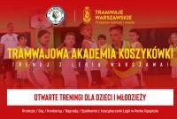 Startuje Tramwajowa Akademia Koszykówki!