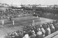 Historia tenisa w Legii Warszawa