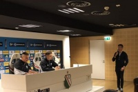 Spotkanie z piłkarzami Legia - Górnik