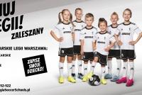 TRWA nabór do Szkoły Piłkarskiej Legii Warszawa w gminie Zaleszany!