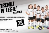 RUSZA SEZON 2019/2020 W LEGIA SOCCER SCHOOLS ZIELONKA!