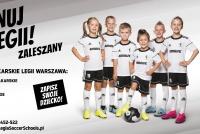 Trwają zapisy do Piłkarskiego Przedszkola Legii Warszawa w gmienie Zaleszany!