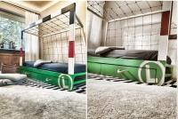 """Łóżko piłkarskie """"bramka LEGII"""""""