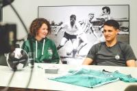 Wyjątkowe spotkanie Bartka Kapustki z Legia Soccer Schools