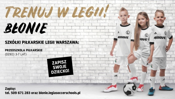 NOWY SEZON LEGIA SOCCER SCHOOLS!