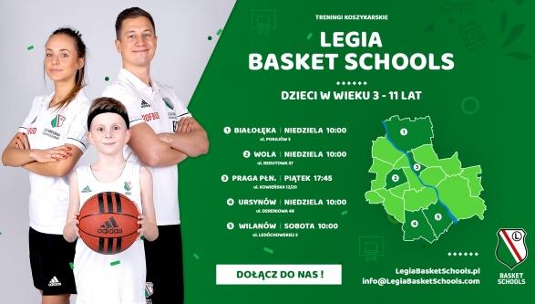 Ruszył nowy sezon Legia Basket Schools. Dołącz do nas już dziś!