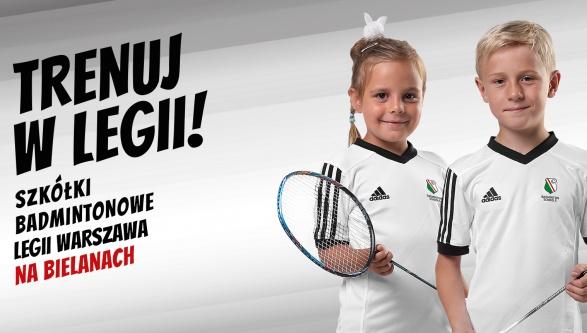 Ośrodek Legia Badminton Schools na Warszawskich Bielanach!