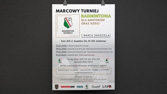 Turniej badmintona dla dzieci i dorosłych