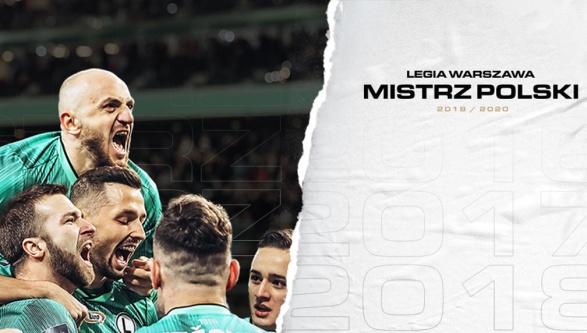 Legia Warszawa Mistrzem Polski