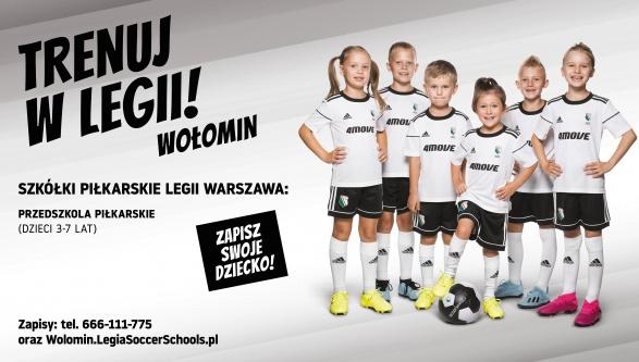 RUSZA SEZON 2019/2020 W LEGIA SOCCER SCHOOLS WOŁOMIN!