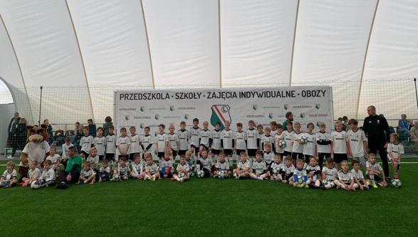Uroczyste otwarcie Legia Soccer Schools w Książenicach