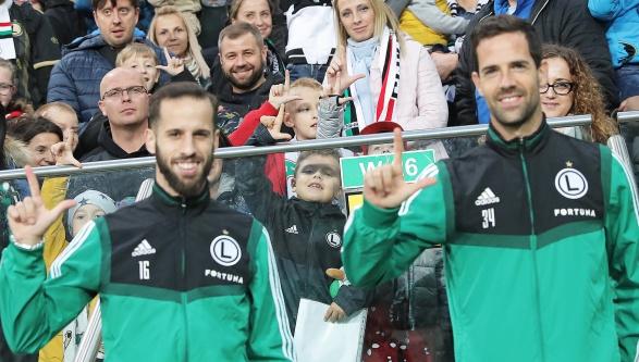 Spotkanie z piłkarzami!!!