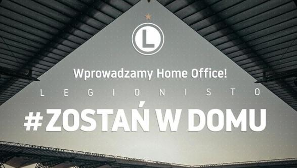 Wprowadzamy home office! Legionisto #zostanwdomu