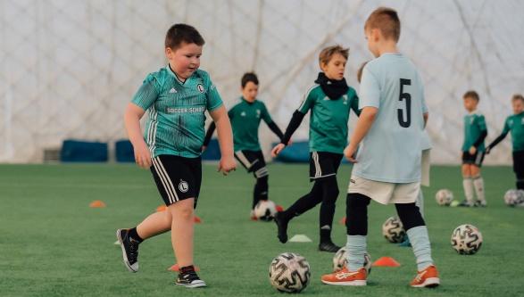 Legia Soccer Schools spełnia marzenie bohatera programu Nasz Nowy Dom