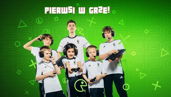 LEGIA PIERWSZA W GRZE! - Startuje Legia eSport Schools!